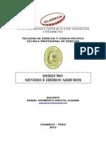 Libro Derecho Minero e Hidrocarburos