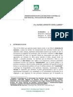 PEÑA LABRIN, Daniel. Elementos Criminogeneos en Los Delitos Contra La Libertad Sexual - Violacion de Menor