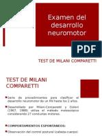 Test Milani Comparetti