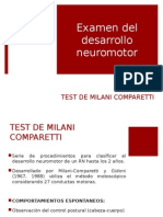 Test Milani Comparetti
