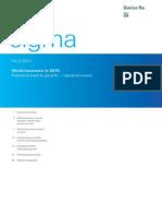 Sigma Re Insurance Report 2010