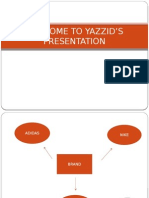 Welcome to Yazzid's Presentation