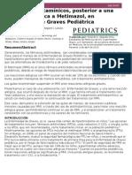 Uso de Antihistamínicos en Enfermedad de Graves Pediátrica