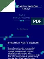 Bab 1 Pendahuluan Ekonomi Makro