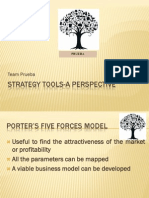 Strategy Tools-A Perspective