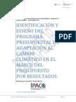 Diseño Prog-presupuestal Cambio Climático
