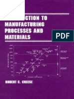 Introduction to Manufacturing Processes and Materials (Robert C.creese, 1999) - Book