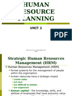 2.2. Human Resource Planning