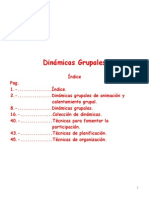 Dinámicas grupales
