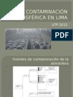 La Contaminación Atmosférica en Lima