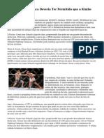 Por que O UFC nunca Deveria Ter Permitido que o Kimbo Slice Para Lutar