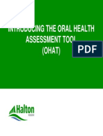 Oral Health Assesment Tool (OHAT)