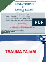 Trauma Tumpul & Trauma Tajam