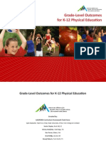 Grade Level Outcomes for K 12 Physical Education