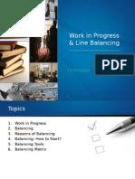 13. Line Balancing and WIP