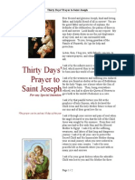Thirty Days' Prayer to St. Joseph