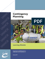 UNHCR Contingency Planning