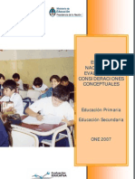 One 2007 Informe Final