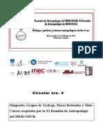 XI Reunion de Antropología del Mercosur