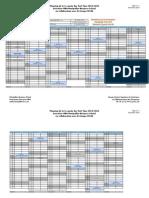 Planning 1ère Année EMBA ISCAE PT1416