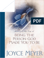 [Meyer Joyce] Being the Person God Made You to Be