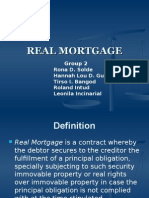 REAL MORTGAGE report.ppt