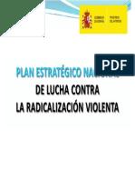 Plan estratégico Nacional de lucha contra la radicalización violenta.