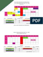 Jadual Waktu Pengajaran Dan Pembelajaran