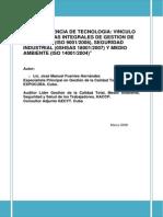 Tecnologia Sistemas Integrales Calidad Seguridad
