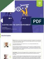 Webinar Auditing SAP