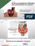 Exposicion de Hipertiroidismo - Enf. de Graves