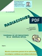 HUGO MARTIN ATOMICA CORDOBA RADIACIONES UTN VILLA MARIA 2015 PANORAMA GENERAL DE LAS RADIACIONES EN LA SOCIEDAD ACTUAL