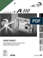 A 310 Manual fujitsu finepix