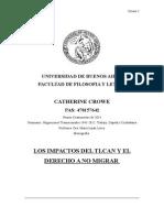 Los Impactos Del TLCAN y El Derecho a No Migrar_Catherine Crowe
