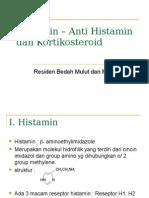 anti histamin & kortikosteroid