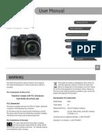 GE X400 Camera Users Manual