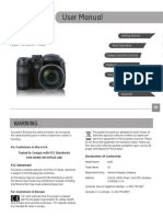 GE X400 Camera Users Manual