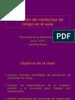 Prevención de Conductas de Riesgo