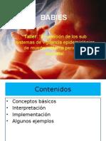 Uso de matriz BABIES - muerte perinatal