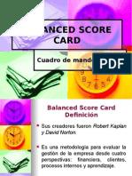 Balanced Scorecard Fundamentos