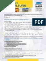 Brosura Fondului National de Garantare a Creditelor Pentru Intreprinderilor Mici Si Mijlocii 2015
