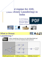 AML Ppt for Icrier