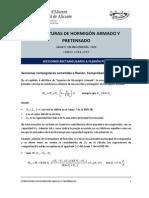 Comprobación y Diseño de Secciones Rectangulares a Flexión
