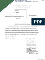 NATIONAL SECURITY ARCHIVE v. CENTRAL INTELLIGENCE AGENCY et al - Document No. 15