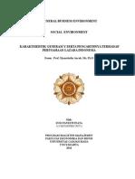 Paper 2. Social Environment
