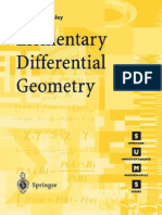 Elementary Differential Geometry Pressley