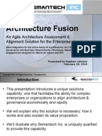 Semantech Inc. Architecture Fusion