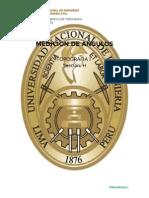 Topografia i - Medicioertn de Angulos Con Teodolito