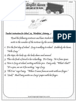 School 04 Worksheet Listening 1 Instructions