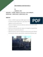 Informe Procesos Constructivos i